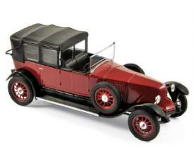 Norev - Renault  - nor519514 : 1924 Renault 40 CV MC *Gaston Doumergue*, red/black