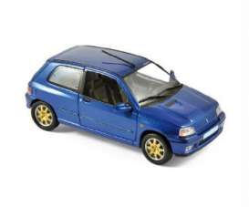 Norev - Renault  - nor517521 : 1996 Renault Clio Williams, blue