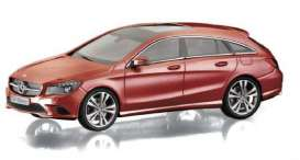 Norev - Mercedes  - nor351275 : 2015 Mercedes Benz CLA Shooting Brake, red