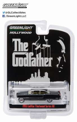GreenLight - Cadillac  - gl44740B : 1955 Cadillac Fleetwood Series 60 Special The Godfather (1972) *Hollywood series 14*