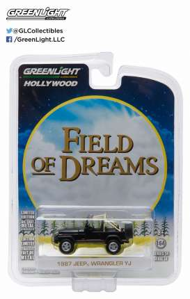 GreenLight - Jeep  - gl44740D : 1987 Jeep Wrangler YJ *Field of Dreams*, Hollywood series 14