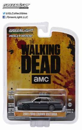GreenLight - Ford  - gl44740E : the Governors 2001 Ford Crown Victoria (dusty) *the Walking Dead*, Hollywood series 14