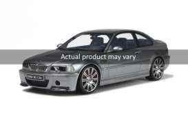 OttOmobile Miniatures - BMW  - otto177B : BMW M3 E46 CSL *resin series*, silver grey with different rim