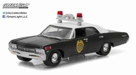 GreenLight - Chevrolet  - gl42760A : 1967 Chevrolet Biscayne Fargo North Dakota *Hot Pursuit series 19*