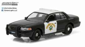 GreenLight - Ford  - gl42760C : 2008 Ford Crown Victoria California Highway Patrol *Hot Pursuit series 19*
