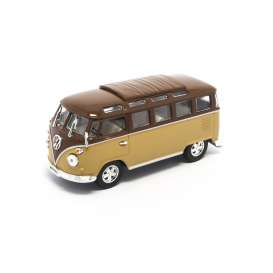 Lucky Diecast - Volkswagen  - ldc43209bn : 1962 Volkswagen Microbus T1 with closed sunroof, brown/light brown