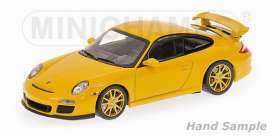 Minichamps - Porsche  - mc400068022 : 2009 Porsche 911 GT3 (997 2nd Generation), yellow