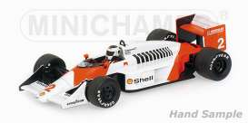 Minichamps - McLaren  - mc537871802 : 1987 McLaren TAG MP4/3 Stefan Johansson, red/white
