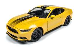 Auto World - Ford  - AW229 : 2016 Ford Mustang GT, yellow