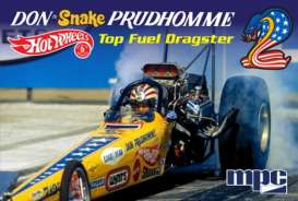 MPC - Dragster  - mpc844 : 1972 Don *Snake* Prudhomme Rear Engine Dragster, plastic modelkit