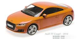 Maxichamps - Audi  - mc910013020 : 2014 Audi TT Coupe, orange