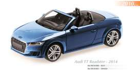 Maxichamps - Audi  - mc910013030 : 2014 Audi TT Roadster, blue