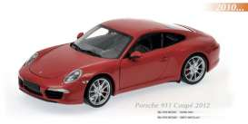 Maxichamps - Porsche  - mc910061021 : 2011 Porsche 911 Carrera S, red