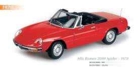 Maxichamps - Alfa Romeo  - mc910120930 : 1970 Alfa Romeo 2000 Spider, red