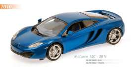 Maxichamps - McLaren  - mc910133020 : 2011 McLaren 12C, blue metallic