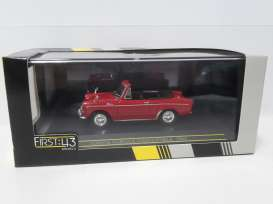 First 43 - Toyota  - F43-017*1 : 1964 Toyota Publica convertible, red