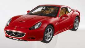 Hotwheels - Ferrari  - hwmvR3255*1 : 2008 Ferrari California V8 *Foundation Series* with removable hardtop, red