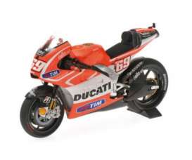 Minichamps - Ducati  - mc122130069 : 2013 Ducati Desmosedici GP13 Nicky Hayden, red