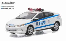 GreenLight - Chevrolet  - gl42770E : 2016 Chevrolet Volt New York NYPD Police *Hot Pursuit series 20*
