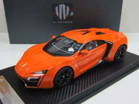 FrontiArt - Lykan  - F030-09 : 2014 Lykan Hypersport, orange