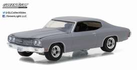 GreenLight - Chevrolet  - gl13170C : 1970 Chevrolet Chevelle SS *Muscle Series 17*, primer grey. F&F look-a-like