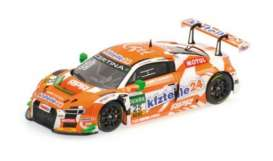 Minichamps - Audi  - mc437161125 : 2016 Audi R8 LMS KFZTEILE 24-APR MOTORSPORT Dobitch/Sandström ADAC GT Masters, orange