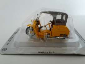 Magazine Models - Simson  - magPCsimsonDuo : Simson Duo *Polish cars*, orange