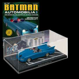 Magazine Models - Batman  - magBAT-19 : 1/43 Batman Batmobile Detective Comics #371, blue