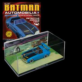 Magazine Models - Batman  - magBAT-48 : 1/43 Batman Batmobile Detective Comics #597, blue
