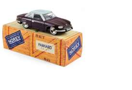 Norev - Panhard  - norCL4511 : Panhard 24 CT, Quetsche/Gris Capelinos