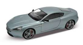 Welly - Aston Martin  - welly18045s*2 : 2010 Aston Martin DB9 coupe *Premium Collection*, silver