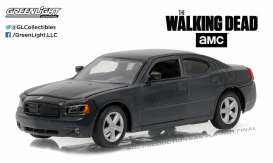 GreenLight - Dodge  - gl86505 : 2006 Dodge Charger Daryl Dixons Police *the Walking Dead*, black