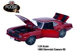"M2 Machines - Chevrolet  - M2-40300-52B : FOOSE DESIGN - 1.24 scale Release 52A.1969 Chevrolet Camaro RS ""FOOSE Special Edition"""