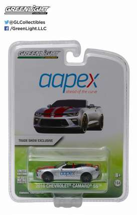 GreenLight - Chevrolet  - gl51056 : 2016 Chevrolet Camaro SS convertible *Aapex Show* Limited edition