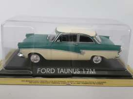 Magazine Models - Ford  - maglcTaunus : Ford Taunus 17M, green/white