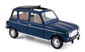 Norev - Renault  - nor185241 : 1965 Renault 4, Copenhague blue