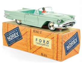 Norev - Ford  - norCL2711 : 1960 Ford Thunderbird, vert adriatique