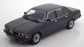 KK - Scale - BMW  - kkdc180101 : 1977 BMW E23 7-series, black