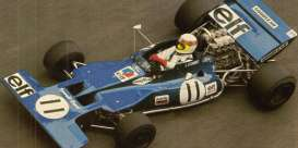 Minichamps - Tyrrell Ford - mc435710111 : 1971 Tyrrell Ford 003 #11 Jackie Stewart Winner Monaco GP, blue