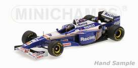 Minichamps - Williams Renault - mc435960005 : 1996 Williams Renault FW18 Damon Hill Winner of First Melbourne GP, white/blue