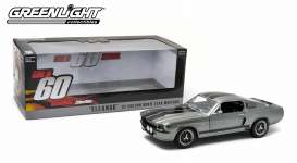 GreenLight - Ford  - gl12909*4 : 1967 Ford Mustang *Eleanor* Gone in 60 Seconds (2000), tungsten grey with black stripes.