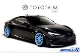 Aoshima - Toyota  - abk151795 : 2016 Toyota ZN Toyota 86 with Custom Wheels, plastic modelkit