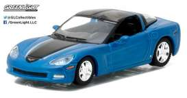 GreenLight - Chevrolet Corvette - gl27870B : 2012 Chevrolet Corvette C6 *General Motors Series 1*, blue
