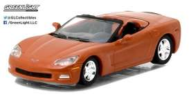 GreenLight - Chevrolet Corvette - gl27870C : 2012 Chevrolet Corvette Convertible *General Motors Series 1*, inferno orange