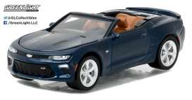 GreenLight - Chevrolet  - gl27870F : 2016 Chevrolet Camaro Convertible *General Motors Series 1*, blue