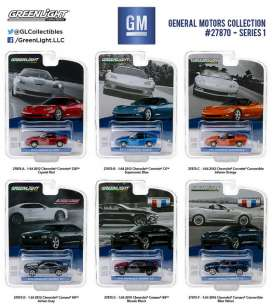 GreenLight - Assortment/ Mix  - gl27870~12 : *General Motors Series 1*. Mix box of 12pcs