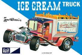 MPC - Barris  - mpc857 : 1/25 Ice Cream Truck, plastic modelkit