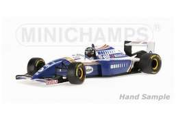 Minichamps - Williams Renault - mc127941200 : 1994 Williams Renault FW16 Damon Hill *Resin series*, blue/white/gold/red