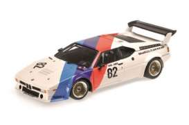 Minichamps - BMW  - mc180792982 : 1979 BMW M1 Procar #82 Surer BMW Motorsport Eifelrennen DRM 1979, white/light blue/dark blue/red