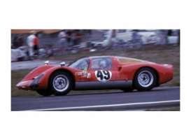 Minichamps - Porsche  - mc400666649 : 1966 Porsche 906K #49 Vögele/Siffert 12H Sebring 1966, grey/red/black